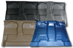 Molded Vinyl Flooring for Ford trucks